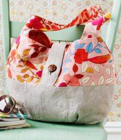 Love this bag!  Better learn to sew...