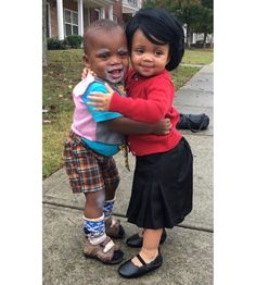 there Halloween costumes there Brown & Cora from Tyler Perry shows and movies Best Halloween Costumes Ever, Halloween 2019, Cool Costumes, Happy Halloween, Tyler Perry, Baby Needs, Fashion Beauty, Celebrities, Brown