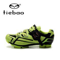 Tiebao Cycling Shoes Mountain MTB Bike Shoes Men Women Cycle Bicycle Self-locking Sneakers Athletic Shoes zapatillas de ciclismo