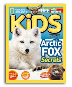 National Geographic Kids Magazine Subscription - 1 year for 11.99 !!
