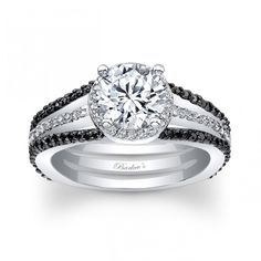 - Glamour and Cheap Black Diamond Wedding Ring Sets for Great Wedding Couple-  Diamond is the most favorite gem stone for wedding rings. Diamond is known as an expensive gem stone which is very luxurious and classy to b. Black Diamond Wedding Rings, Black Diamond Engagement, Beautiful Wedding Rings, Wedding Rings Solitaire, Princess Cut Engagement Rings, Wedding Rings Vintage, Halo Engagement Rings, Vintage Engagement Rings, Diamond Rings