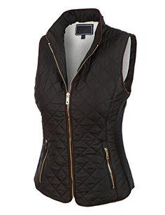 LE3NO Womens Lightweight Quilted Puffer Jacket Vest with Pockets LE3NO http://www.amazon.com/dp/B0153Y1U6A/ref=cm_sw_r_pi_dp_dZOwwb1N2X6BZ