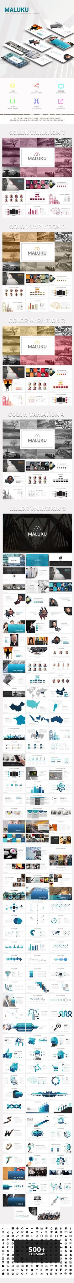 Maluku Powerpoint Template - Business PowerPoint Templates Download link: https://graphicriver.net/item/maluku-powerpoint-template/22093893?ref=KlitVogli