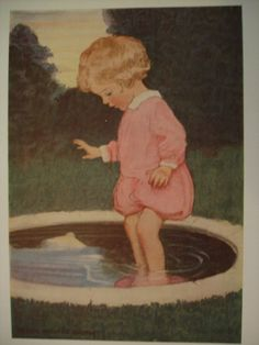 Jessie Wilcox Smith. Classic Children's Book Illustration