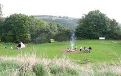 Thistledown in gloucestershire, perfect wild family camping for adventurious kids.
