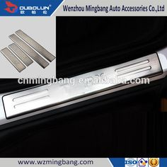 Wholesale Stainless Door Sills Scuff Plate For Chevrolet Trax 2014 Car Accessories