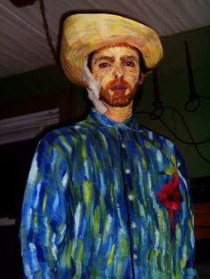 Van Gogh costume,  cosplay.