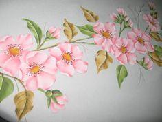 cortinas pintadas a mano Buscar con Google pintura sobre tela