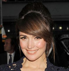 80 And More Updo Hairstyles For 2014: Rose Byrne Updos  #updos #hairstyles #updohairstyles