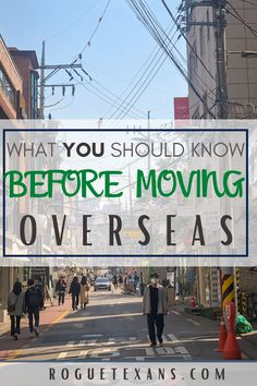 There are a lot of things to consider when moving abroad, more than you can imagine. Here's advice based on our experiences that will help you on your journey!