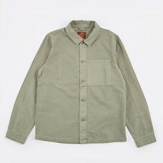 Satta Utility Shirt - Stonegreen (Image 1)