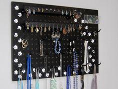 Necklace Hanger  Jewelry Hanger  Jewelry by JansJewelryOrganizer, $44.95