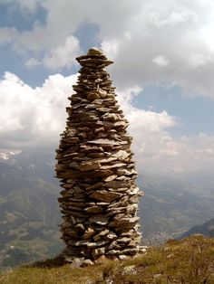 """The name """"Ebenezer"""" is not original to the English language. In 1 Samuel for example, the Israelites camped at a place called Ebenezer. Gaia, Stone Cairns, Rock Sculpture, Stone Art, Rock Art, Celtic, Beautiful Places, Landscape, Sticks"""