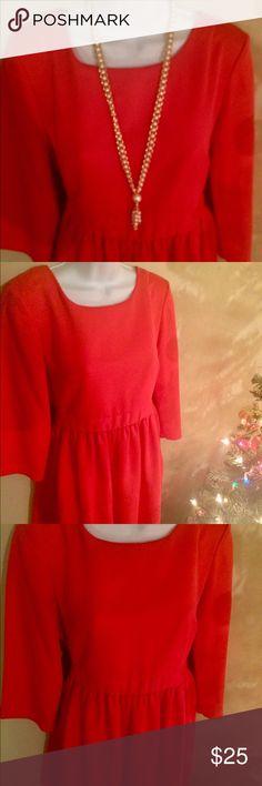 H&M Peach🍑 Colored Dress H&M Peach🍑 Colored Dress H&M Dresses