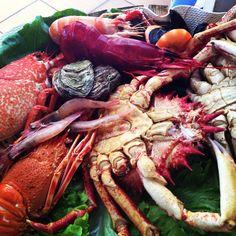 Fresh seafood from our Coast Lisboa Lisbon Portuguese Food, Portuguese Recipes, Lisbon Food, Fresh Seafood, Lisbon Portugal, Coast, Colorful, Diet, Meals