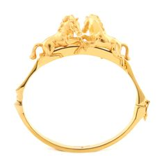 Bill Skinner Gold Plated Double Horse Bangle from The Jewel Hut. Shop our gorgeous collection of jewellery and watches and get FREE delivery. The Bangles, Bracelets, Gold Gold, Vanity Fair, Horse Jewelry, Asos, Equestrian Style, Plaque, My Design