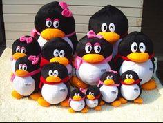 13 50cm 1pcs Male Female Lover Penguin Stuffed Plush Toy Doll Animal Cartoon…
