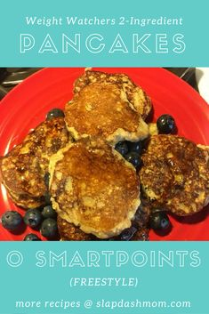 2 Ingredient Weight Watchers Pancakes :: Zero Points Freestyle