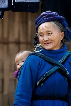 Woman & Grandchild Vietnam