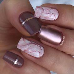 Ice and Marble Matte color nails ana0m. 18 Trending Summer Nail Designs 2018. nails… - #nails #nail #art #artnails #nailsart