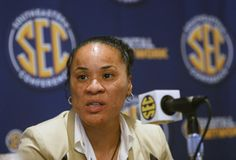 South Carolina's Dawn Staley.