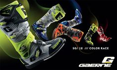 Add flash and flare to your #MXGear with the SG-12 #Offroad #Motorcycle #Boots from #Gaerne available in 7 colors!  Visit the #Haustrom #onlinestore for more #DirtBike Gear from top brands!  #MX #Motocross #MotoX #MXFootwear #NewBoots #2017Footwear  - rr
