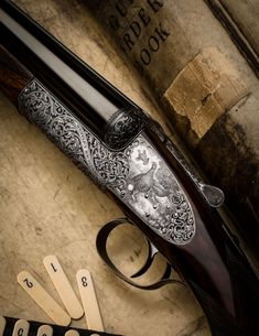 gentlemanbobwhitea Westley Richards round action 12 ga sidelock