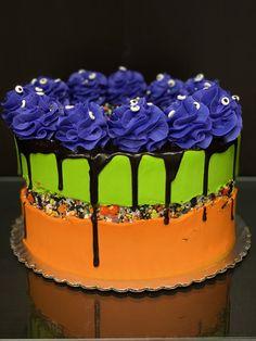 Halloween Cupcakes, Halloween Themes, Theme Cakes, Goodies, Birthday Cake, Desserts, Food, Sweet Like Candy, Tailgate Desserts