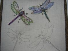 Hi folks, well I shall explain the way I have made my little dragonflies !  1. Find a ''dragonfly outline drawing.''.....Google images have ...