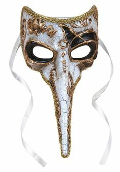 Venetian long nose mask