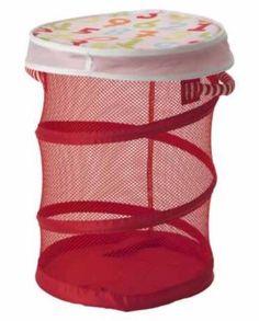 IKEA Kusiner Mesh Storage Basket, Red, BNWT