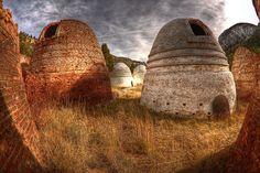 Beehive Kilns, photo by Rick Landry