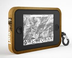 """Earl,"" a smart, solar-powered GPS that gives you real-time map data, weather, and an emergency radio."