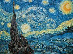 Clementoni Puzzle puzzeln macht Spaß Puzzlespaß Kunst Kunstwerk Gemälde Erwachsenenpuzzle Stary Night Painting, Starry Night Art, Clementoni Puzzle, Vincent Van Gogh, Monet, Van Gogh Prints, Van Gogh Paintings, Impressionist Artists, Dutch Artists
