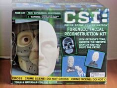 CSI: Crime Scene Investigation Forensic Facial Reconstruction Kit #PlanetToys