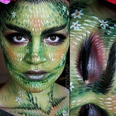 How to look like a forest nymph for #Halloween.