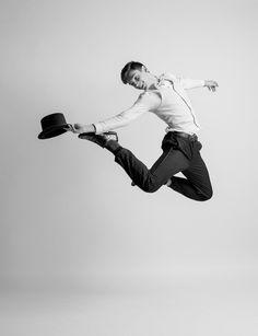 Modern day interpretation of Fred Astaire