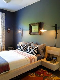 Want Dark Walls? Here's How to Make Them Workhttp://www.apartmenttherapy.com/want-dark-walls-heres-how-to-make-it-work-215024