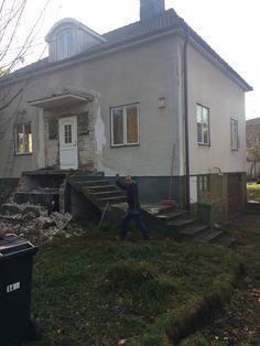 Demolish step 1 - removed entire steps