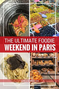 Wondering where to eat in Paris? Adi shares how to maximise 48 hours of eating on the ultimate French foodie weekend in Paris, France, including restaurants, the best markets in Paris, and gourmet shopping you won't want to miss.