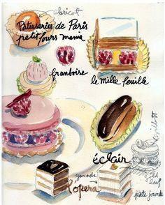 cake ilustration - Buscar con Google