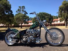 1972 Harley Davidson Shovelhead Bobber Custom Valley Choppers