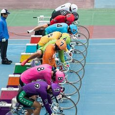 The colourful world of Japanese keirin racing captured by in Kyoto Track Cycling, Female Cyclist, Kyoto, Racing, Japanese, Dreams, Fictional Characters, Bicycle Kick, Cycling
