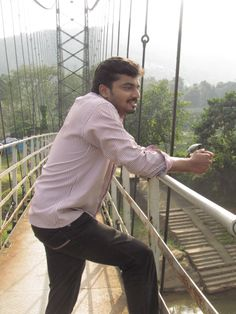 a hanging bridge experience- life