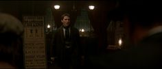 In this scene from The Prestige, a 2006 film about two rival stage magicians, Harry Dresden can clearly be seen on the list as one of the performing magicians. How awesome is that?! :-D