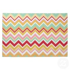 Aztec Andes Tribal Mountains Chevron Fiesta Zigag Hand Towels #kitchentowels #kitchen #towels #gifts #zazzle #MadeintheUSA #prettypatterngifts www.PrettyPatternGifts.com