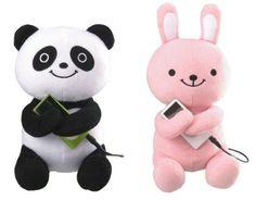 Altavoces movíl conejo y panda