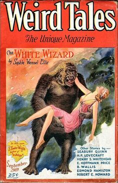 14a Weird Tales Sep-1929 Cover by C. C. Senf - Includes A … | Flickr