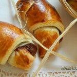 Cornuri turcesti cu nutella de casa