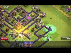 Mobil Oyun Videoları: Clash of Clans Full Cadı Saldırısı